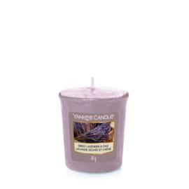 Yankee Candle Votive Dried Lavender & Oak