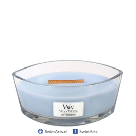 WoodWick Soft Chambray Ellipse Candle