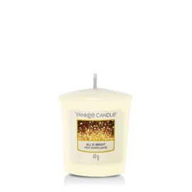 Yankee Candle Votive All is Bright