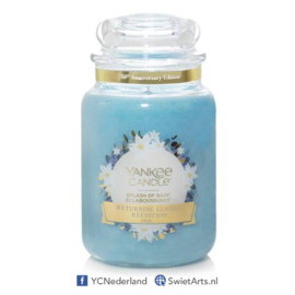 Yankee Candle Large Jar Splash of Rain (Limited Edition)