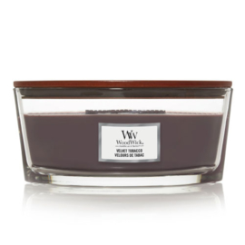 WoodWick Ellipse Candle Velvet Tobacco