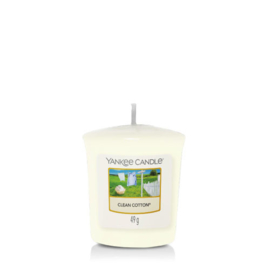 Yankee Candle Votive Clean Cotton