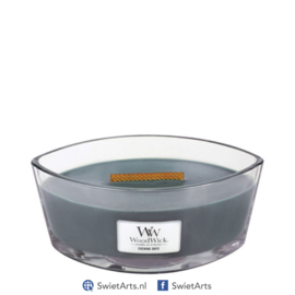 WoodWick Evening Onyx Ellipse Candle