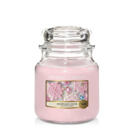 Yankee Candle Medium Jar Snowflake Cookie