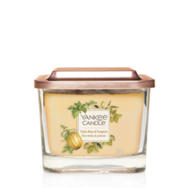 Yankee Candle Elevation Medium Jar Tonka Bean & Pumpkin