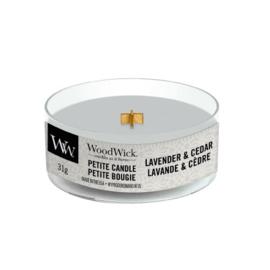 WoodWick Petite Candle Lavender & Cedar