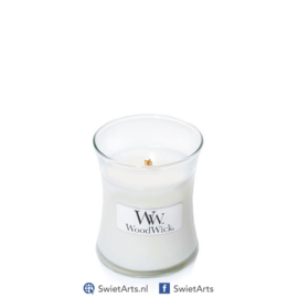 WoodWick White Tea & Jasmine Mini Candle