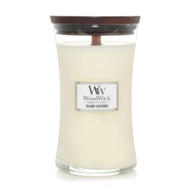 WoodWick Large Candle Island Coconut