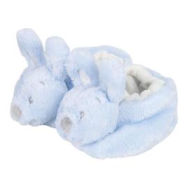 VIB Pluche Babyslofjes Konijn (Blauw)