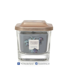 Yankee Candle Dark Berries Small 1-Wick Square Candle