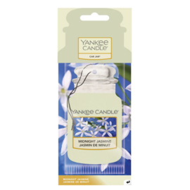 Yankee Candle Car Jar Midnight Jasmine