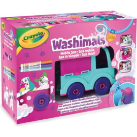 Crayola Washimals Spa Speelgoedauto