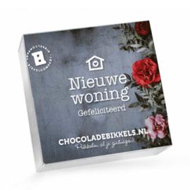 Chocoladebikkels 1 Doos met 20 Bikkels Nieuwe Woning (Zelf samenstellen)