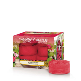 Yankee Candle Tea Light Candles Red Raspberry