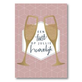 Hallmark Wenskaart Collectie Big Wishes 12 (Huwelijk)