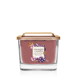 Yankee Candle Elevation Small Jar Grapevine & Saffron