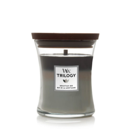 WoodWick Medium Candle Mountain Air Trilogy