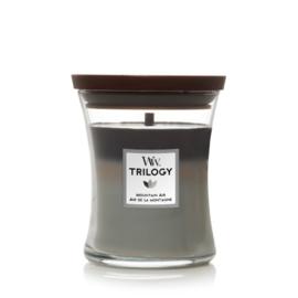 WoodWick Medium Candle Mountain Air Trilogy