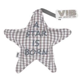 VIB Kussentje Ster Grijs (A STAR IS BORN)