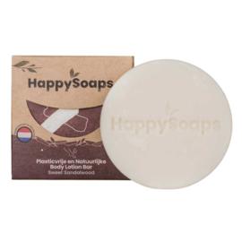 HappySoaps Body Lotion Bar Sweet Sandalwood 65g