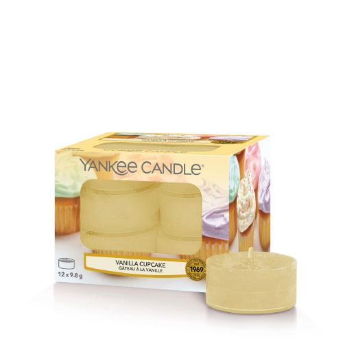 Yankee Candle Tea Light Candles Vanilla Cupcake