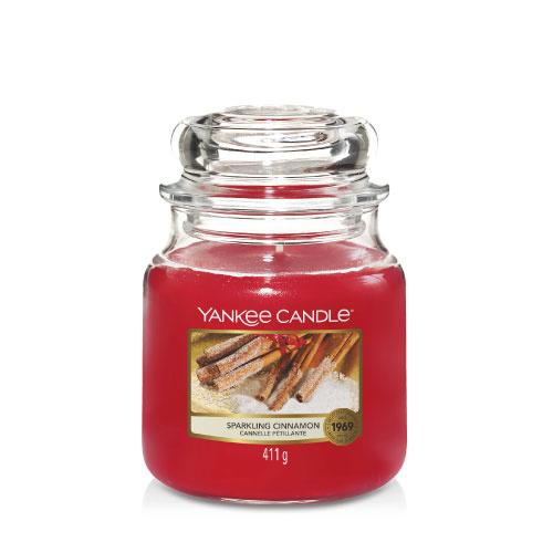 Yankee Candle Medium Jar Sparkling Cinnamon