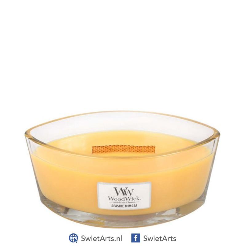 WoodWick Seaside Mimosa Ellipse Candle