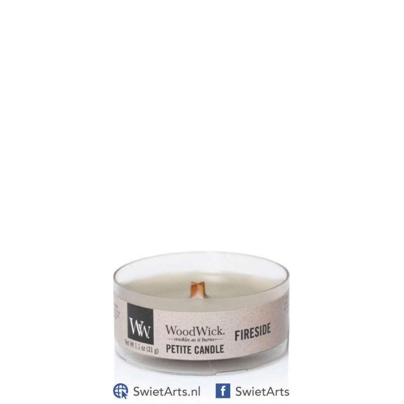 WoodWick Petite Candle Fireside