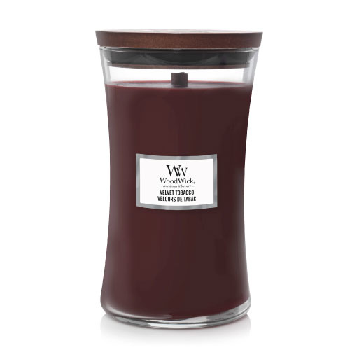 WoodWick Large Candle Velvet Tobacco