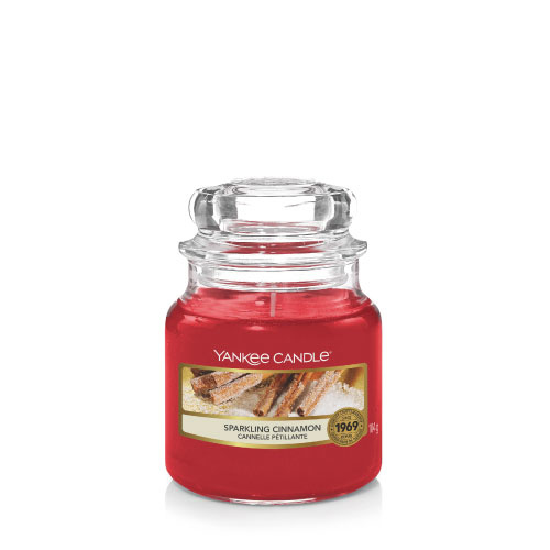 Yankee Candle Small Jar Sparkling Cinnamon