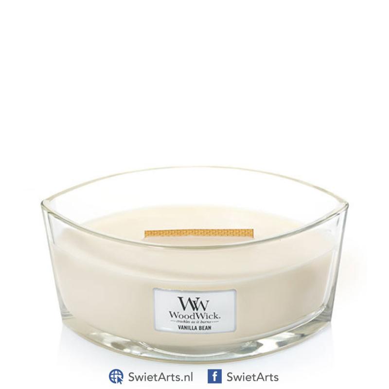 WoodWick Vanilla Bean Ellipse Candle