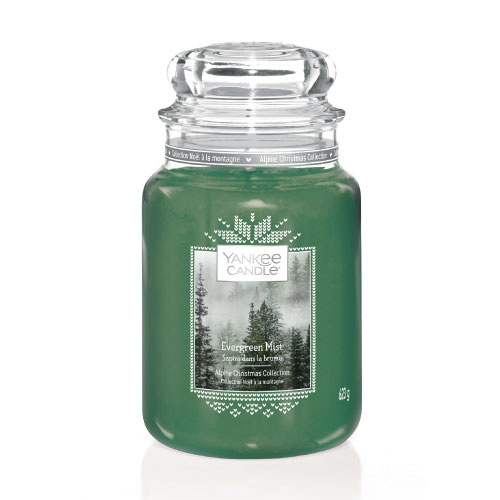 Yankee Candle Large Jar Evergreen Mist