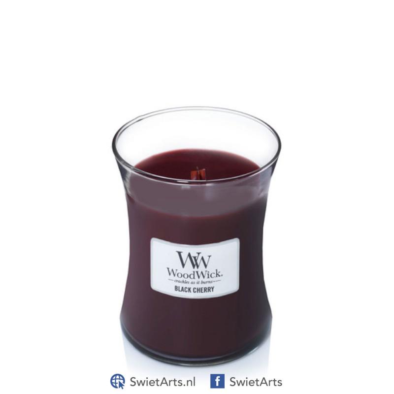 WoodWick Medium Black Cherry