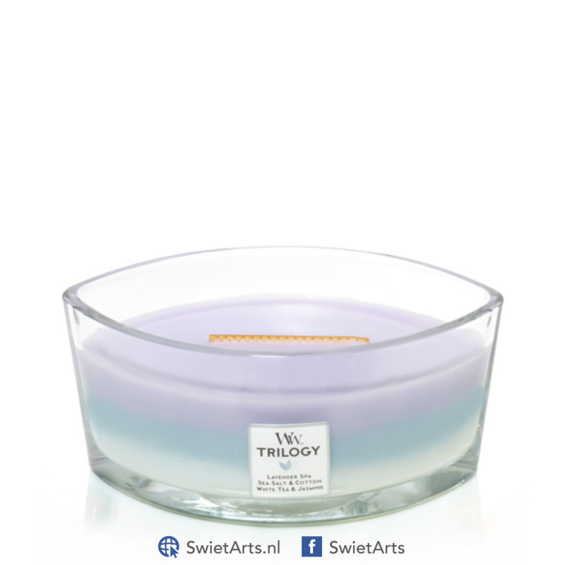 WoodWick Ellipse Candle Calming Retreats Trilogy