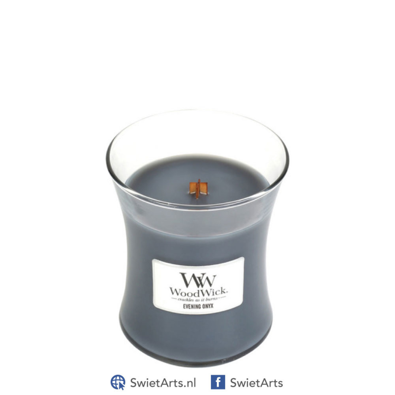 WoodWick Medium Candle Evening Onyx