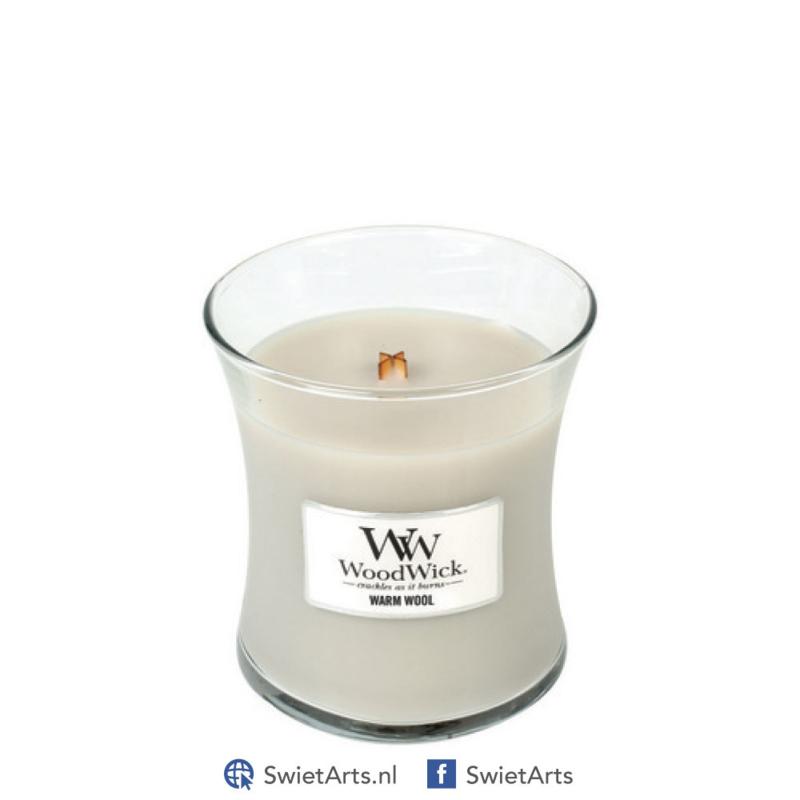 WoodWick Medium Candle Warm Wool