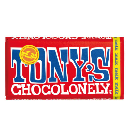Tony's Chocolonely Melk 32% (180 gram)