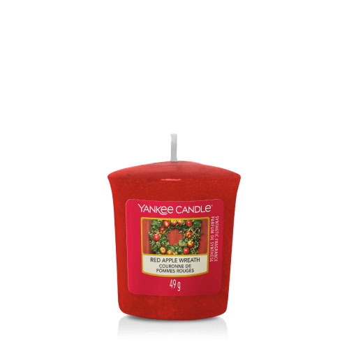 Yankee Candle Votive Red Apple Wreath
