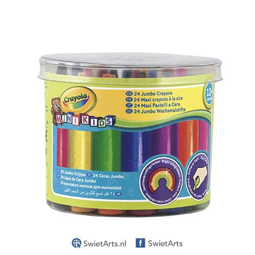 Crayola Mini Kids Dikke Waskrijtjes 24 stuks