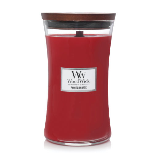 WoodWick Large Candle Pomegranate