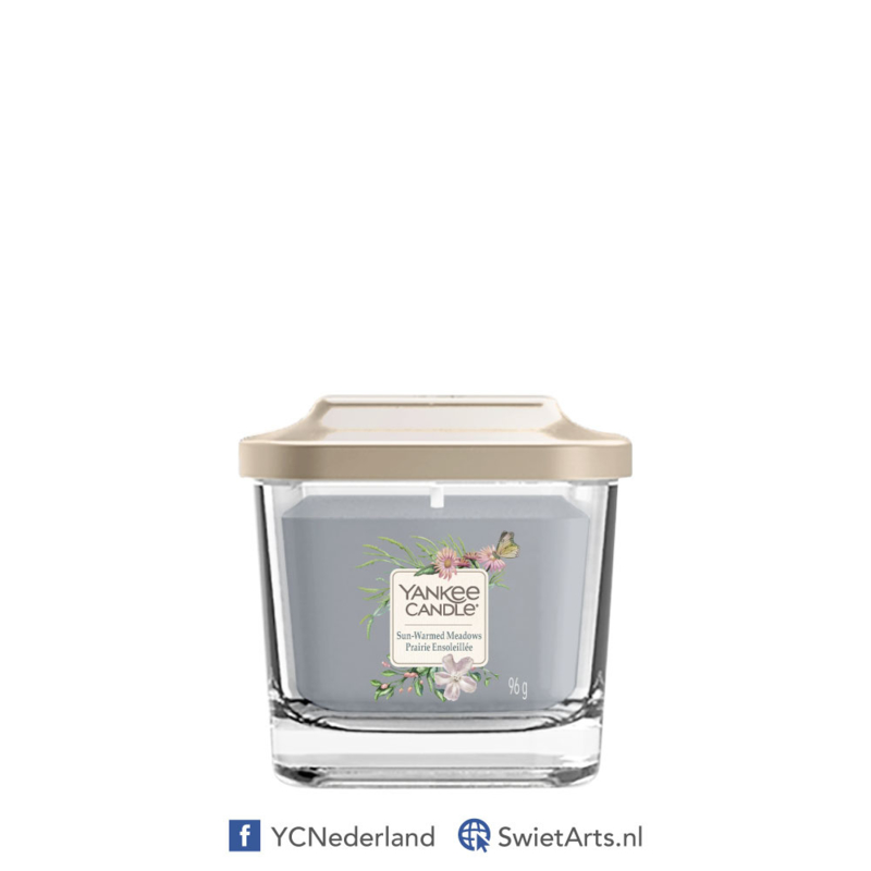 Yankee Candle Sun-Warmed Meadows Small Square Candle