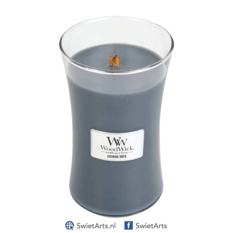 WoodWick Large Candle Evening Onyx