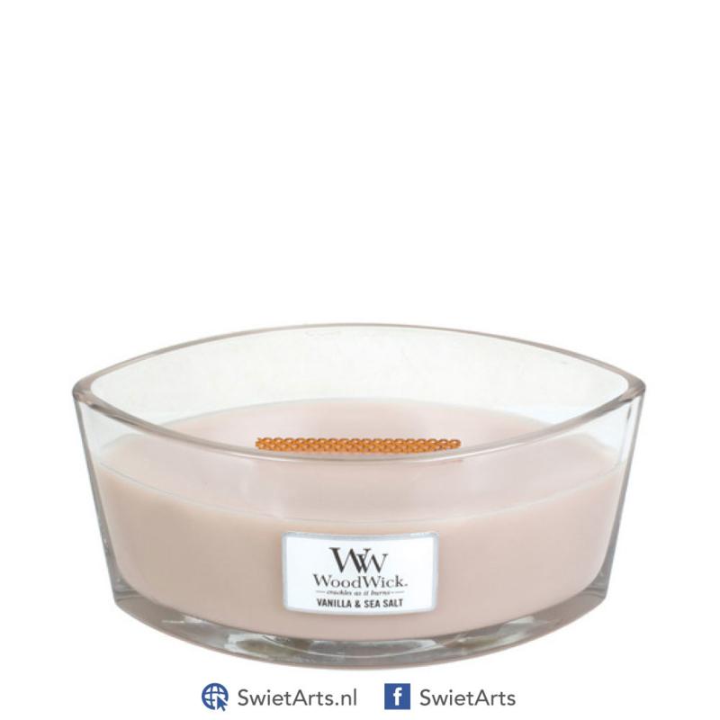 WoodWick Ellipse Candle Vanilla & Sea Salt