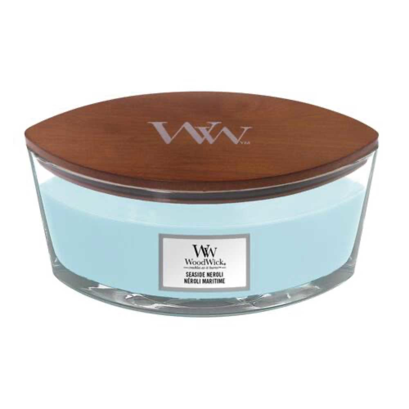 WoodWick Ellipse Candle Seaside Neroli