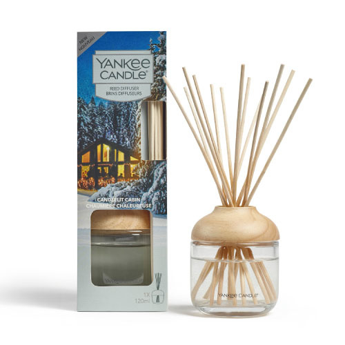 Yankee Candle Reed Diffuser 120ml Candlelit Cabin
