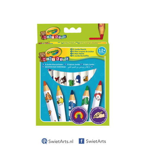Crayola Mini Kids Kleurpotloden 8 stuks