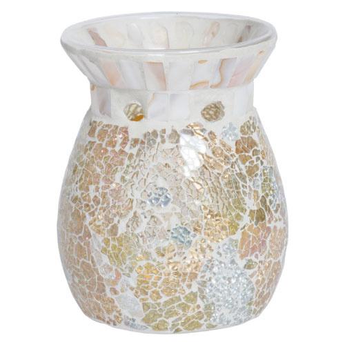 Yankee Candle Classic Wax Melt Warmer Gold & Pearl Mosaic