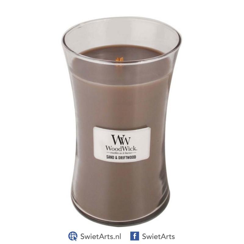 WoodWick Large Candle Sand & Driftwood