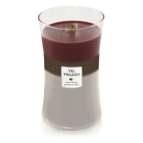 WoodWick Large Candle Forest Retreat Trilogy