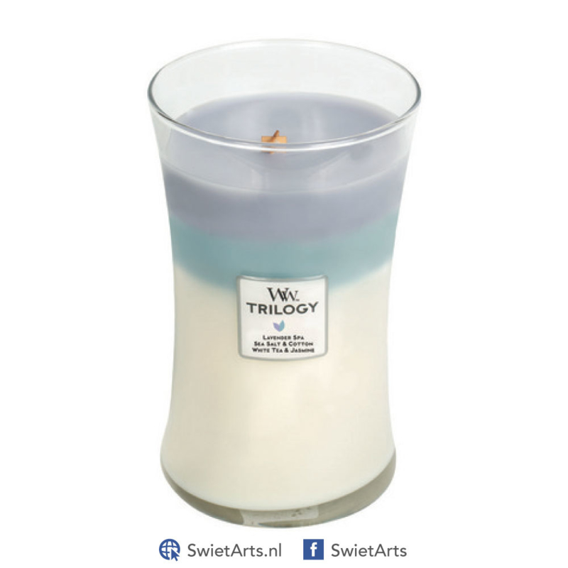 WoodWick Large Candle Calming Retreats Trilogy